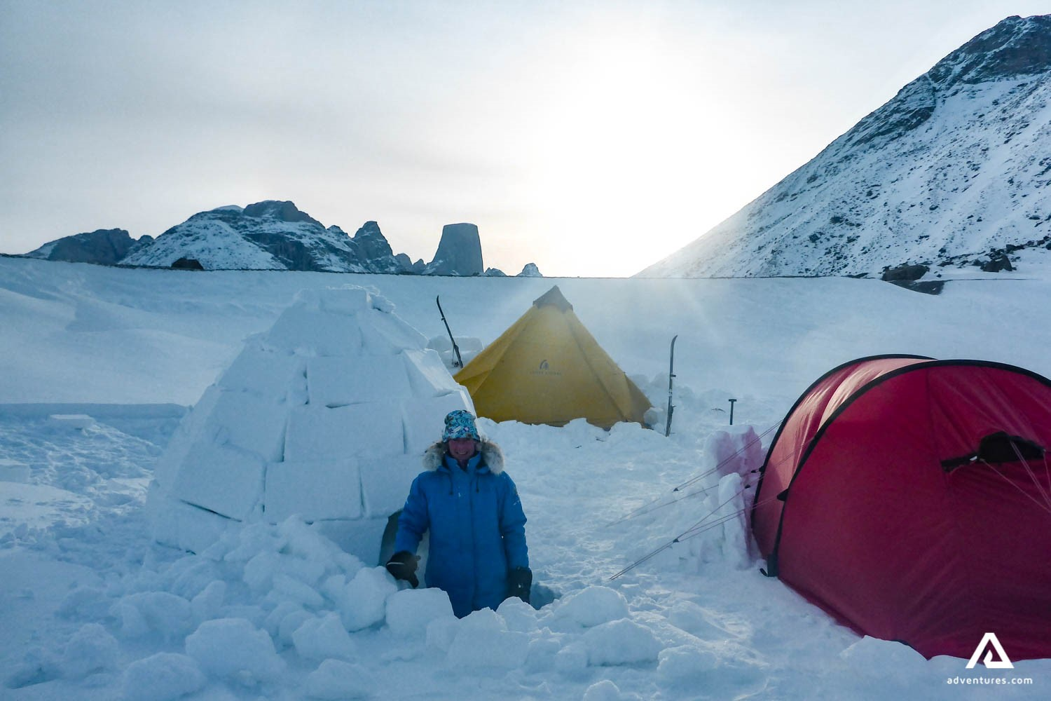 Cross Country Skiing Expeditions on Baffin Island