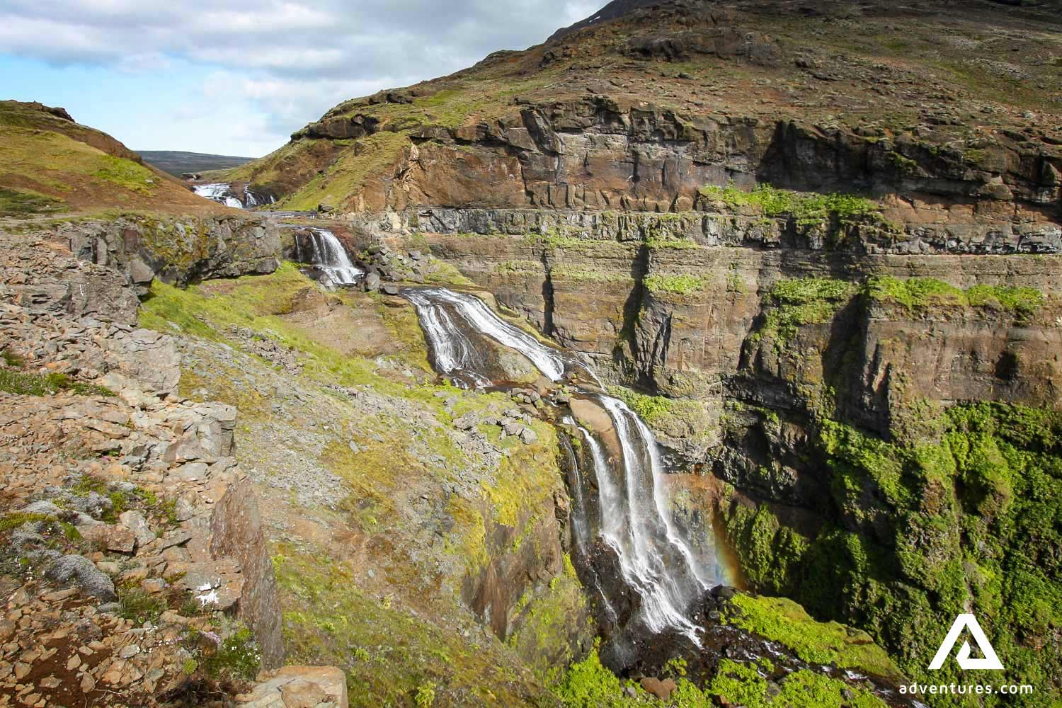 Glymur Waterfall Picture Gallery