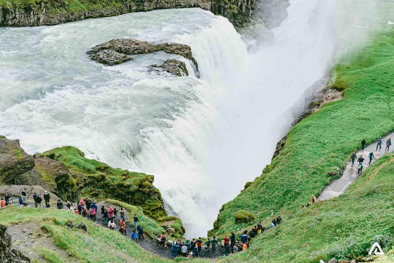 Superior Gullfoss Waterfall