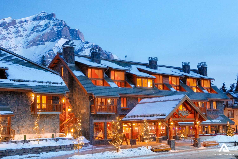 Skiing Resort Hotel