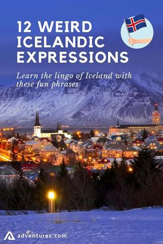 Weird Icelandic Expressions Pinterest