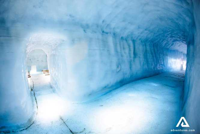 langjokull glacier ice tunnel