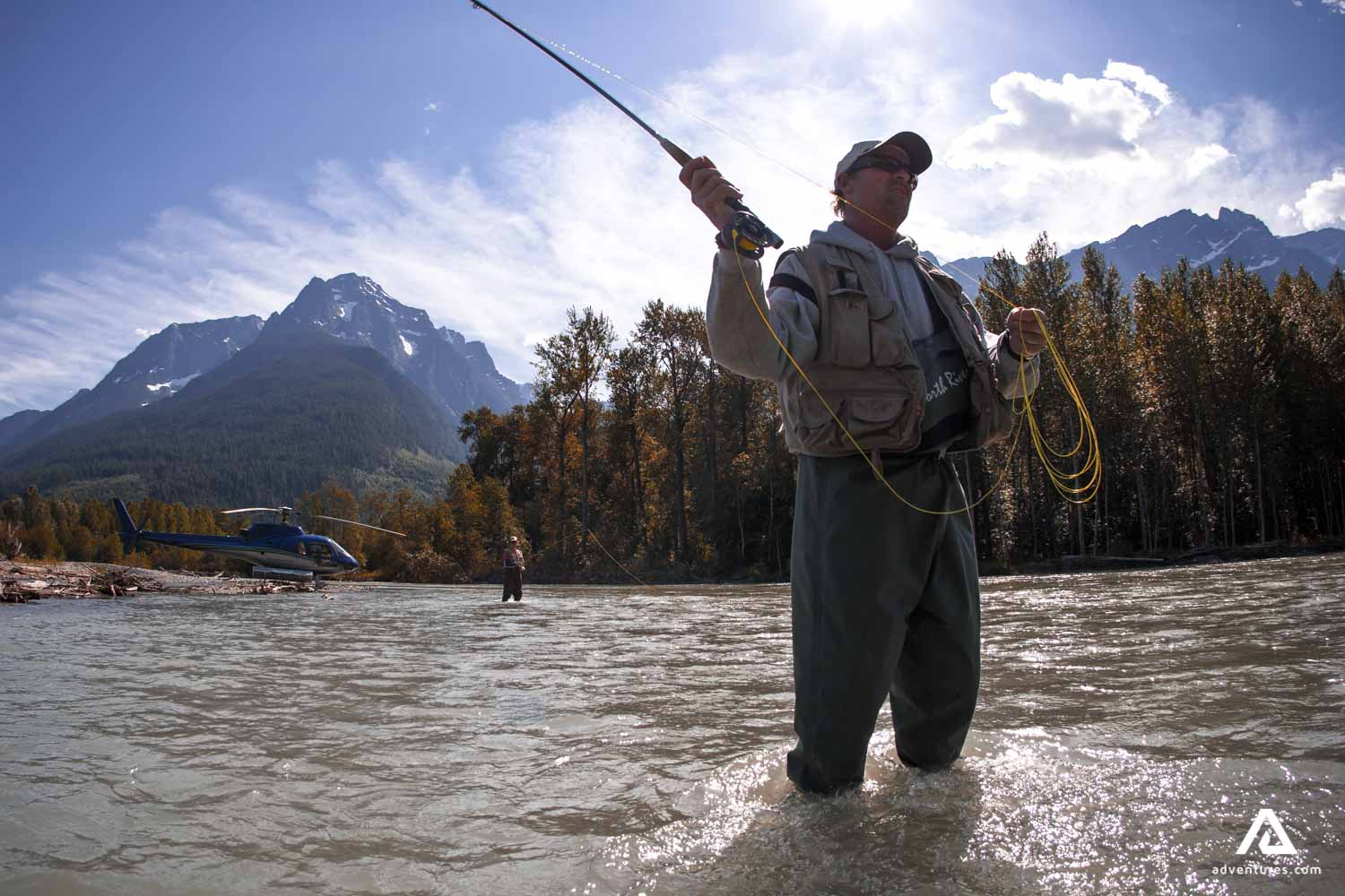 Helicopter Fly Fishing Expeditions