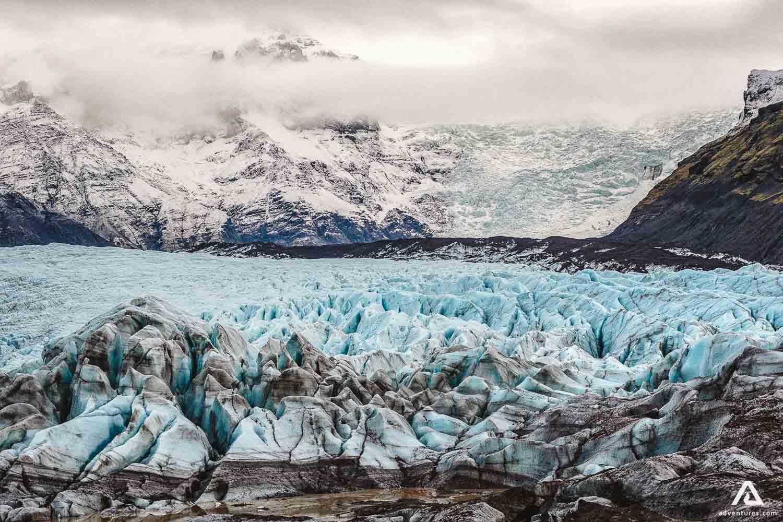 Nature of glacier