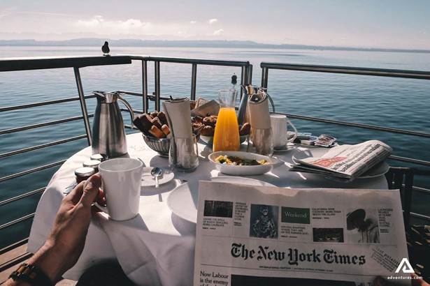 Breakfast on a Cruise Ship