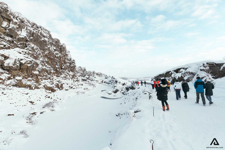 Winter At Thingvellir National Park