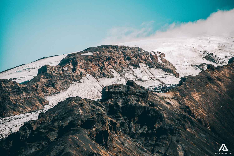 Hiking Thorsmork Volcano