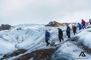 glacier hiking in iceland