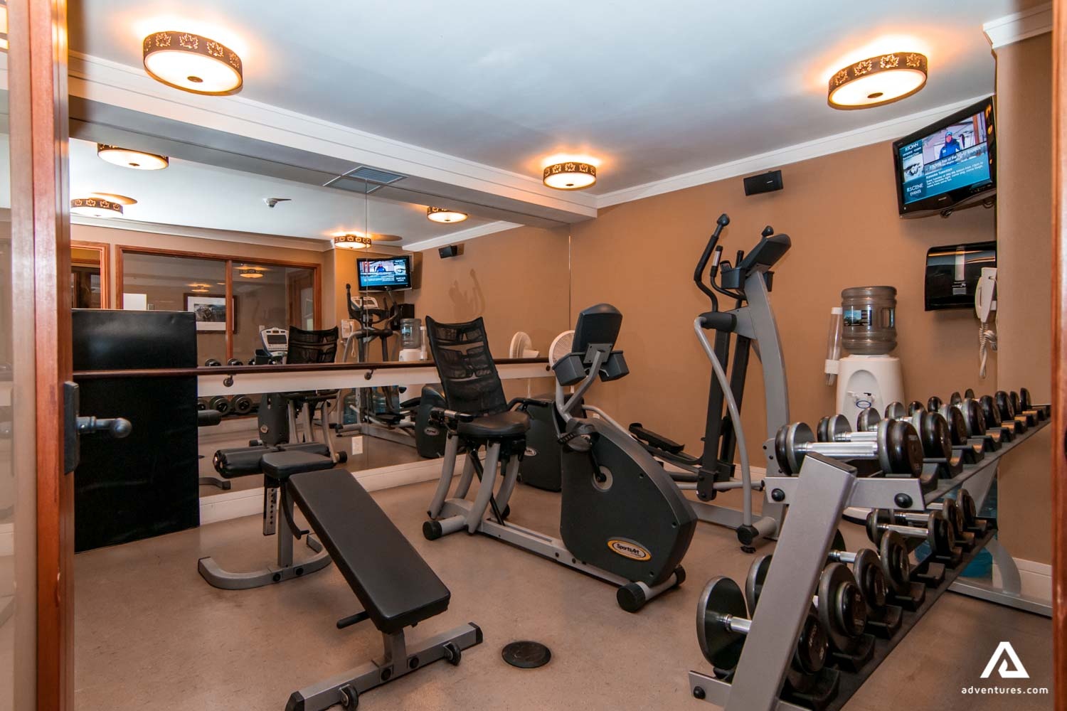 Hotel Gym and Recreation