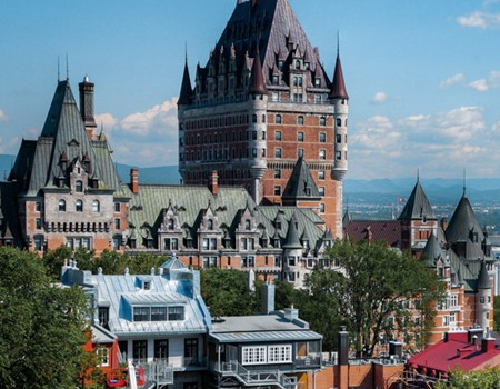 St. Lawrence river cruise in quebec