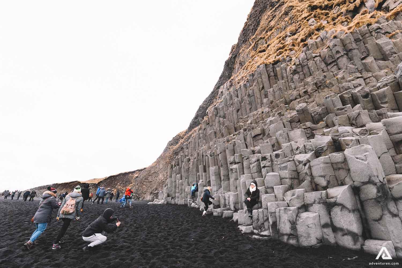 Reynisfjara volcanic rocks