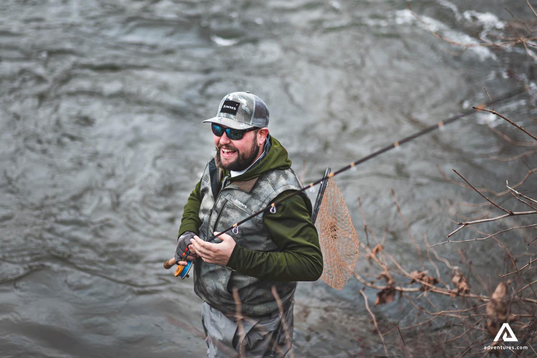 Fishing in Canada Lake