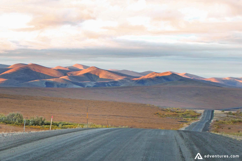 Road with Yukon Landscape