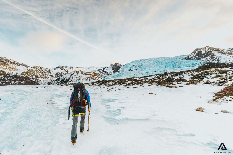 Falljokull Glacier Climbing