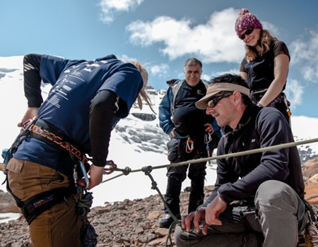 Mountaineering programs in the Rocky Mountains