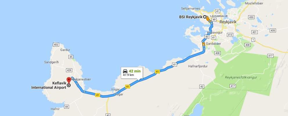 Bus Transfers To Reykjavik ToFrom KEF International Airport - Airports in iceland