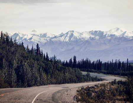 All-year van tours on the Dempster Highway in Canada