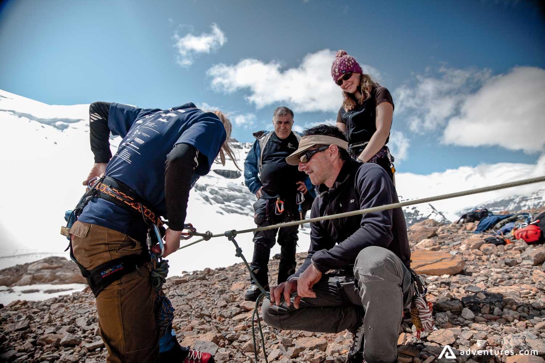 Mountaineering Beginner Instructions