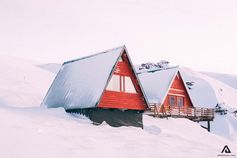 Kerlingarfjoll red huts