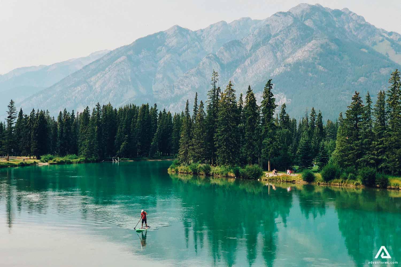 Padding on Lake
