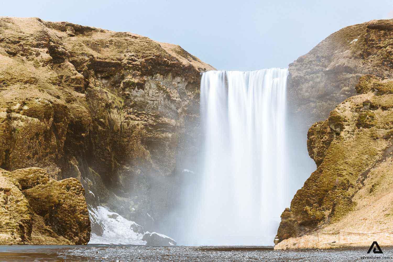 Skogafoss Waterfall scenery
