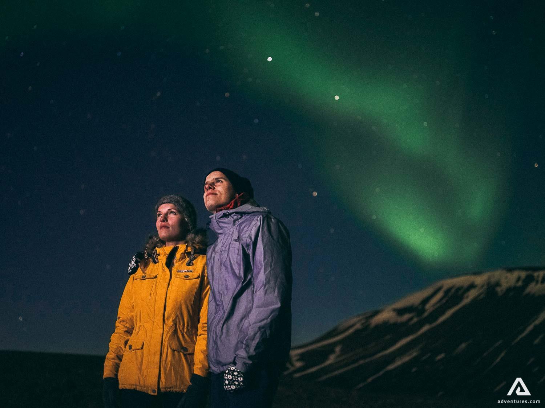 Romantic spot of Northern Lights