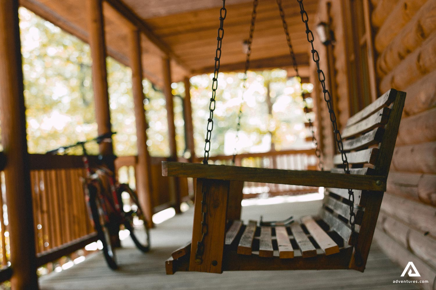 Swing at the Terrace in Lodge