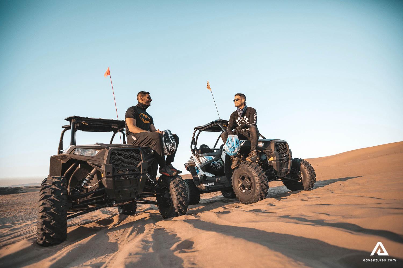 Buggy Ride in Dunes