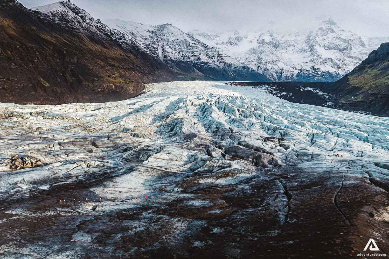 Glacier background