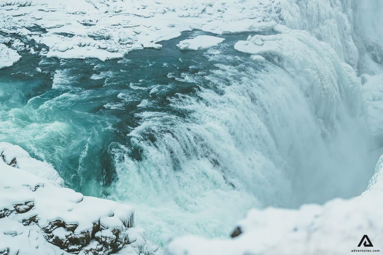 The Golden Falls of Gullfoss