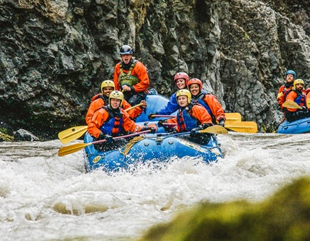 The Ultimate White Water Rafting Adventure