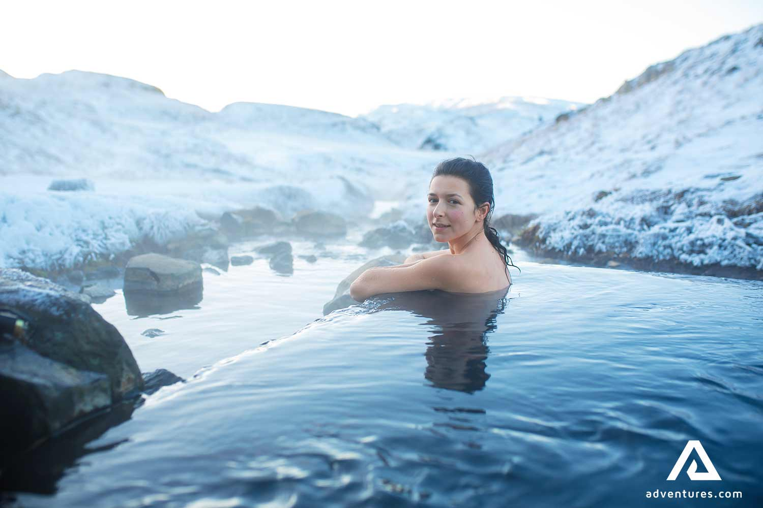 Iceland's natural hot pools remain unspoiled so long as we don't spoil them