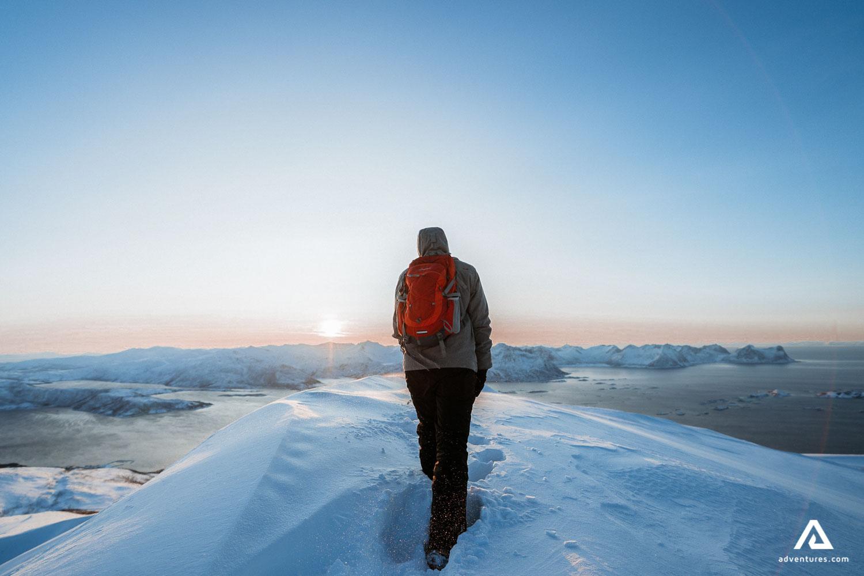 Snow Hiker Hiking