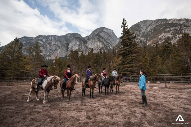 Getting started in Horseback riding