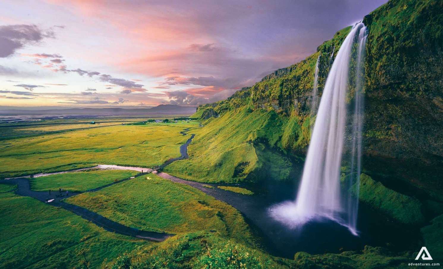 seljalandsfoss south coast iceland