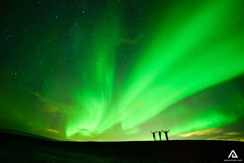 Northern Lights stunning view