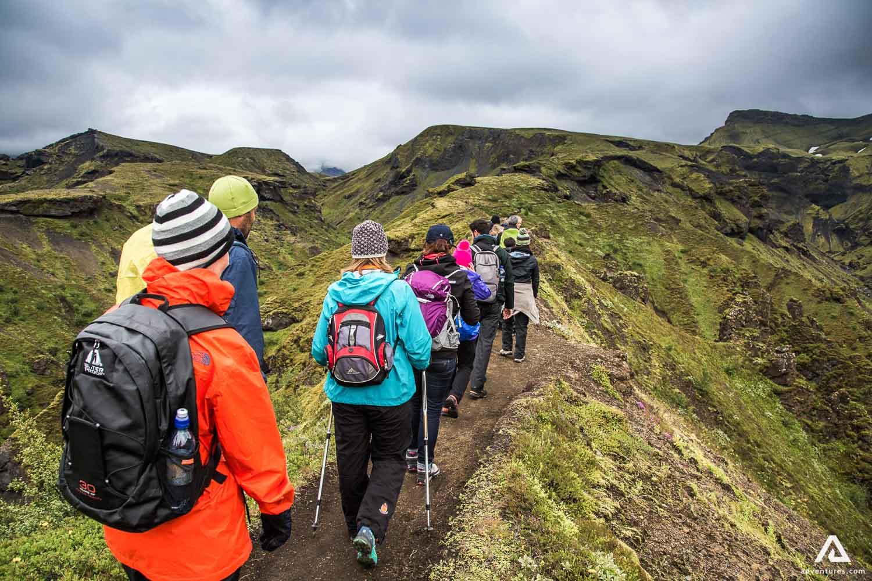 Thorsmork Hiking trail