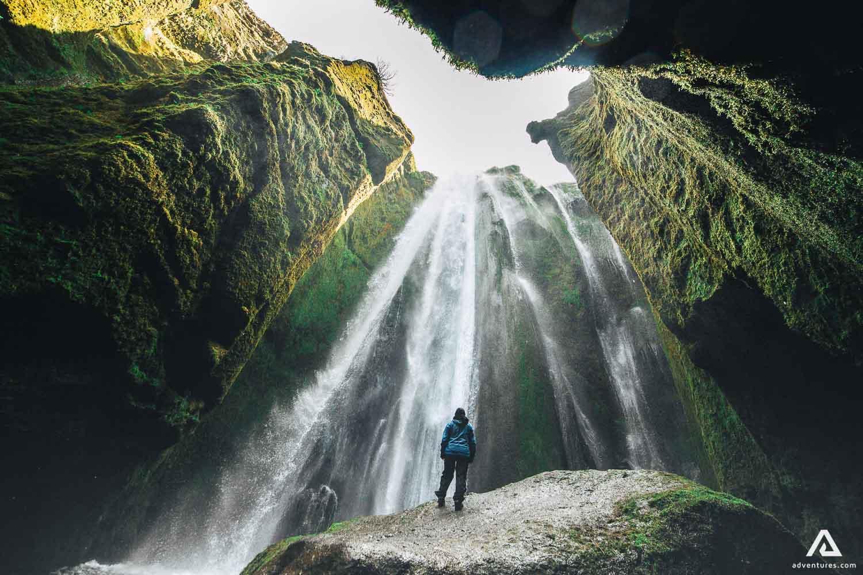 Gljufrabui Waterfall in Iceland
