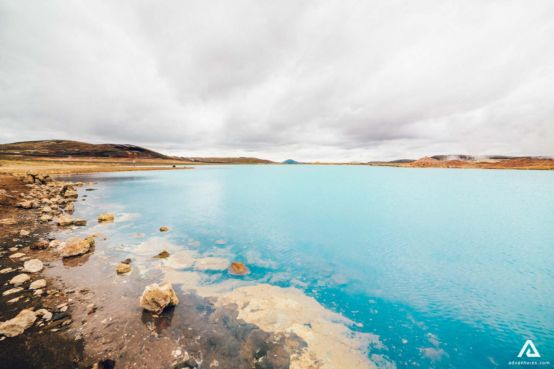 Myvatn lake in North Iceland