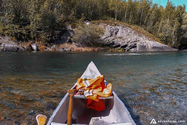 Canoeing tour in Canada