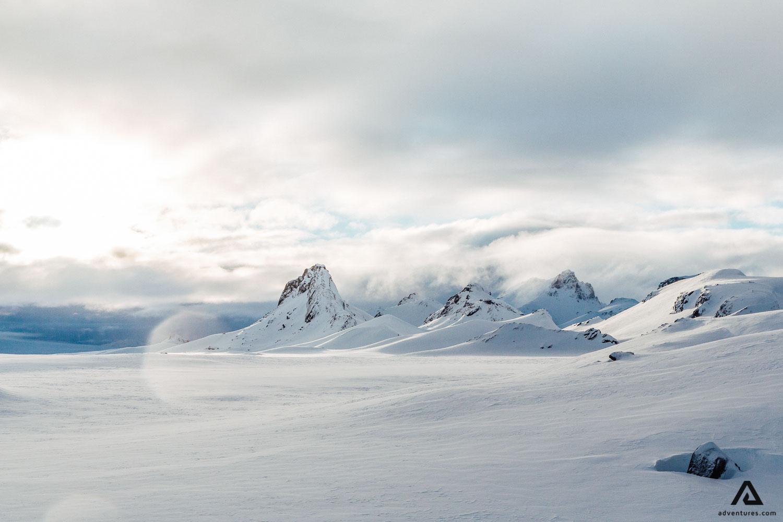 Glacier scenery