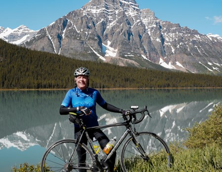 Rocky Mountain lakes cycling tour