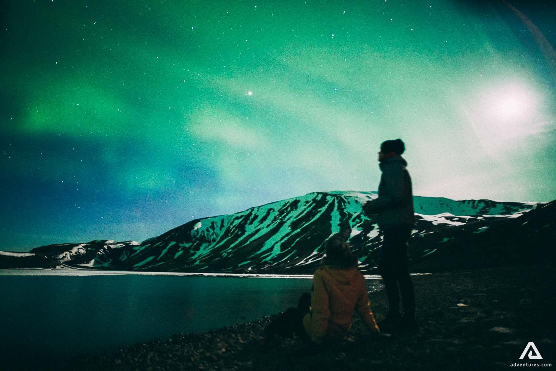 Watching Aurora Borealis