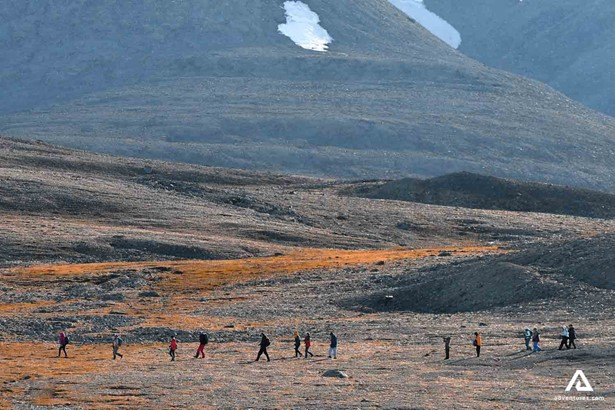 Hiking tour in Greenland