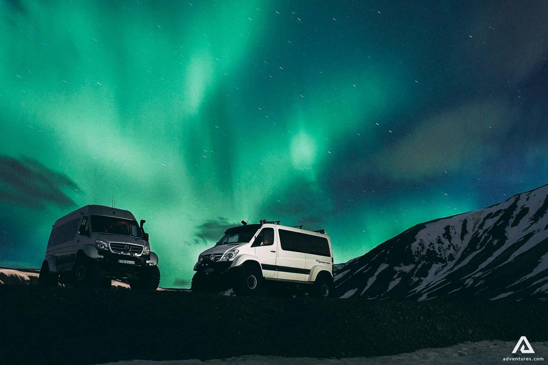 Northern lights super jeep tour