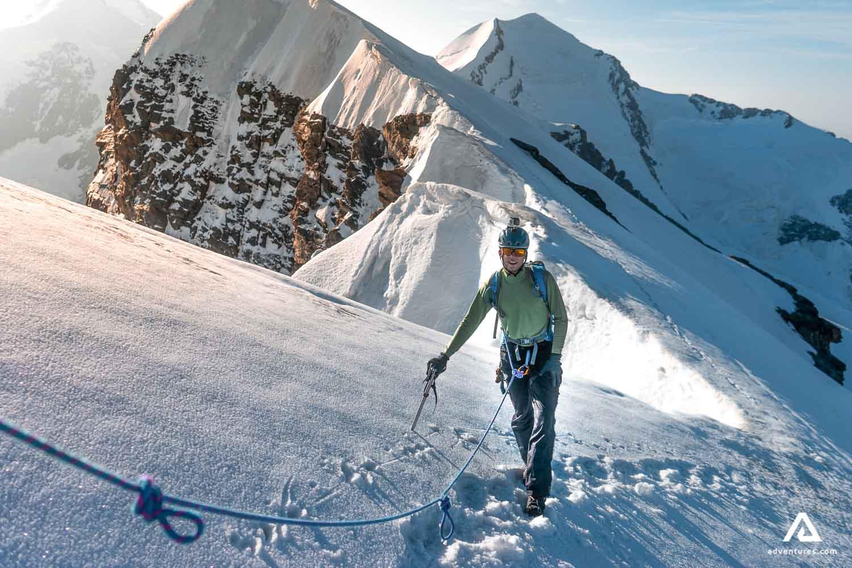 Man Mountaineering & Climbing