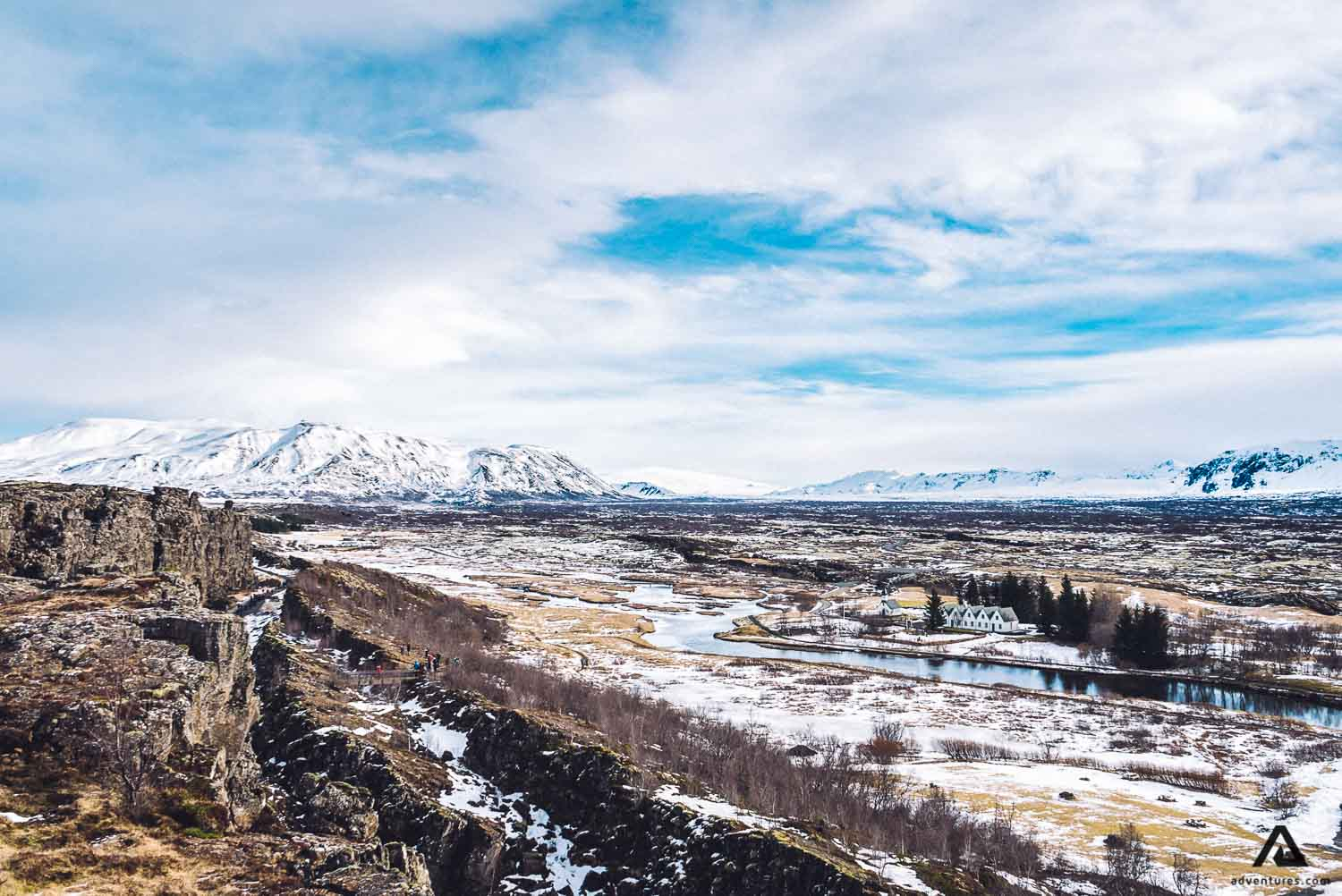 Tingvellir National Park in Iceland