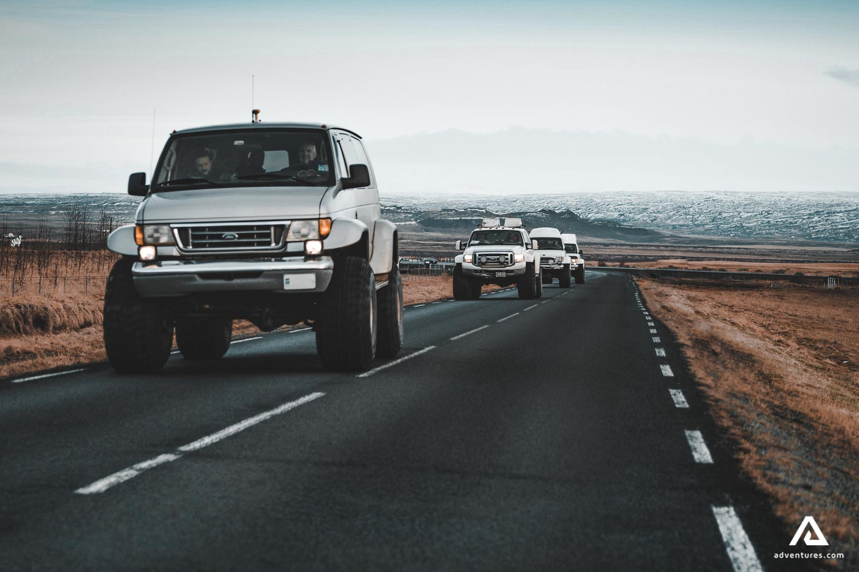 Road Tour on a Super-Jeep