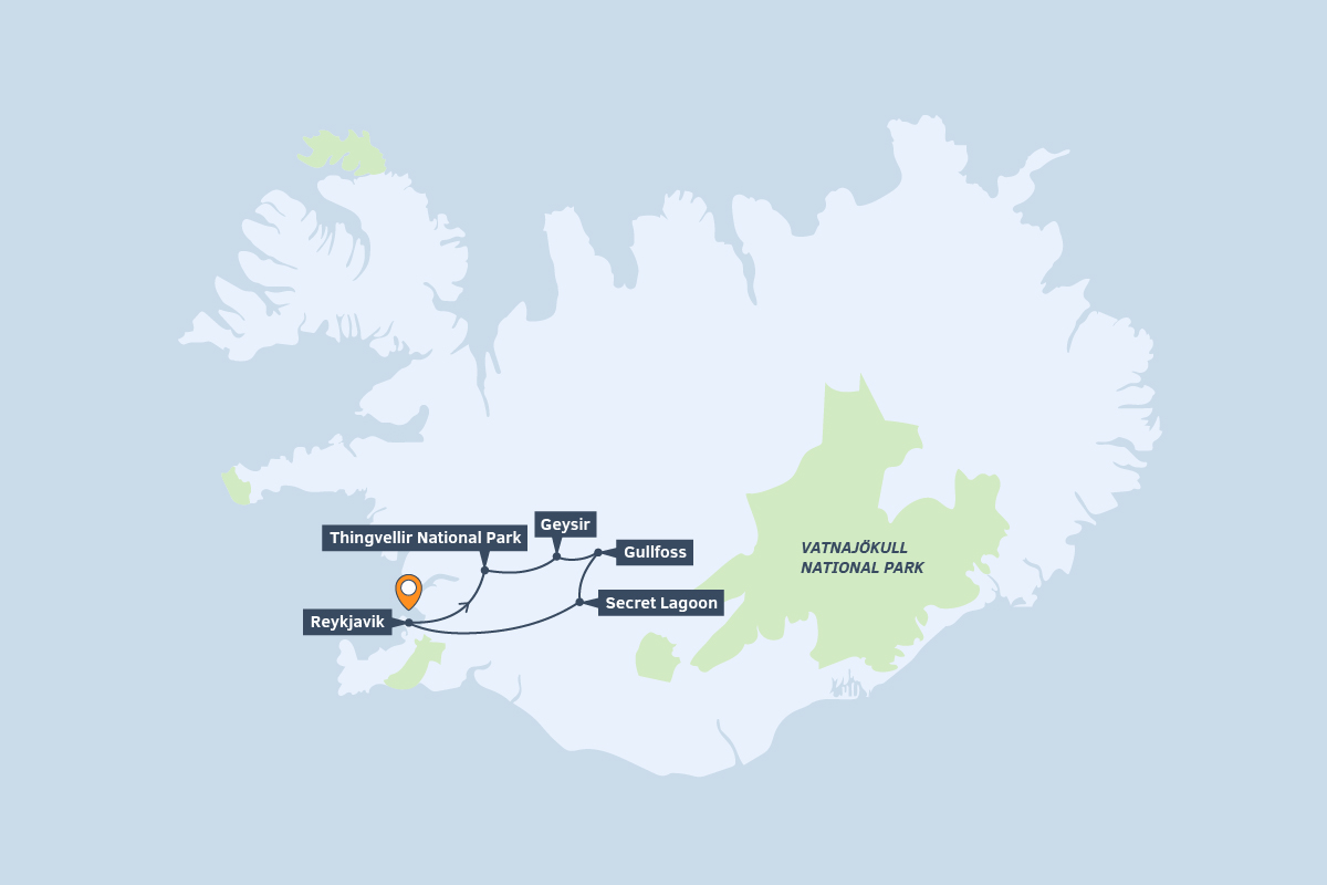 Golden Circle Tours | Best Price Guarantee | Extreme Iceland