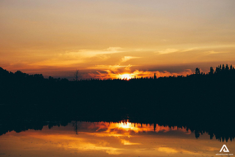 Newfoundland And Labrador Sunset